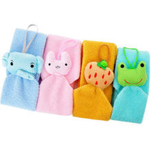 Bling Recommend Cartoon hand towel mini square hand towel car wash cloth small facecloth(China (Mainland))