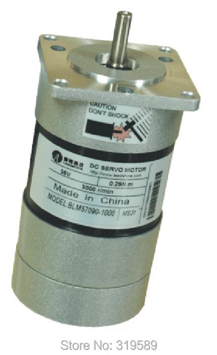 90w new leadshine blm57090 90w brushless servo motor nema for Servo motor frame sizes