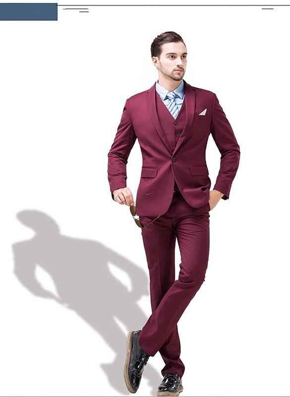 Compare Prices on Burgundy Prom Suit- Online Shopping/Buy Low ...