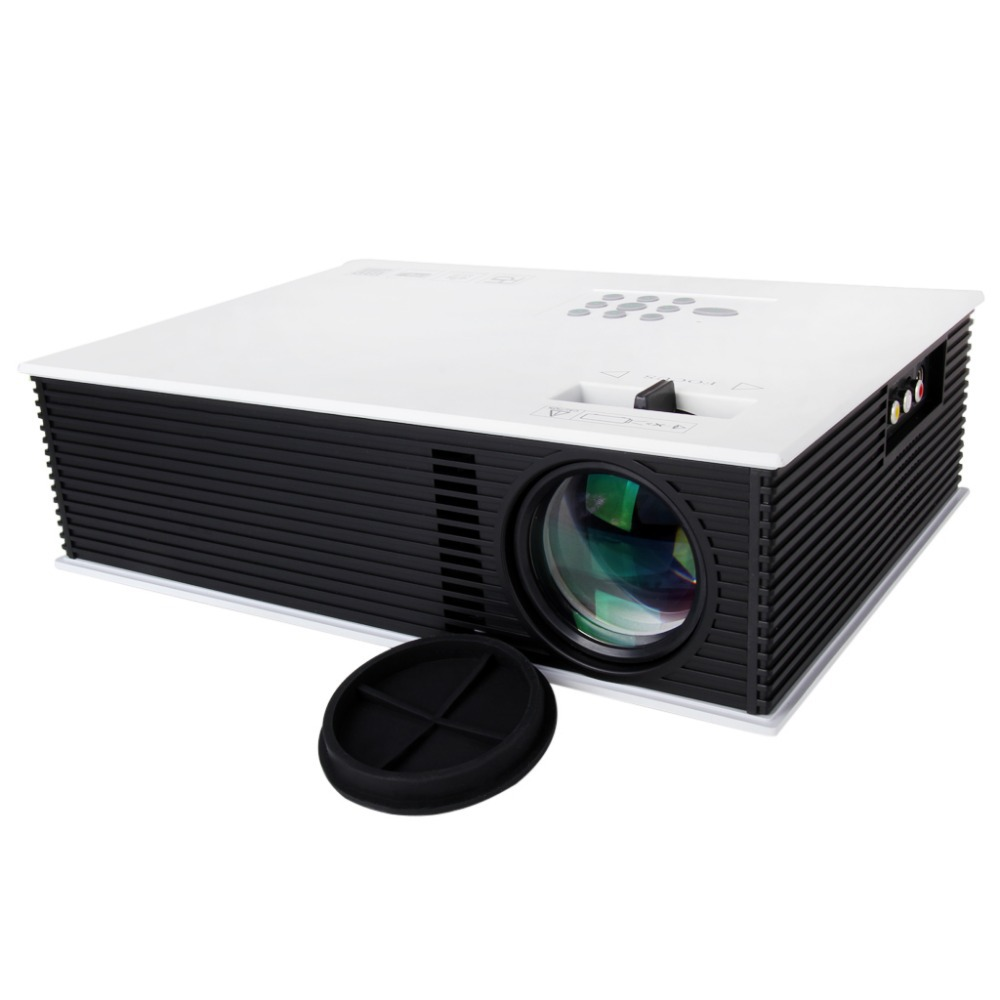 Original UC80 HD 1080P video 1500Lumens HDMI Portable Multimedia LED Projector Home Theater Russian Korean(China (Mainland))