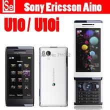 Original Sony Ericsson Aino u10 3G 8.1MP WIFI GPS U10 Bluetooth Unlocked Mobile Phone Free Shipping 2 color 1 Year Warranty