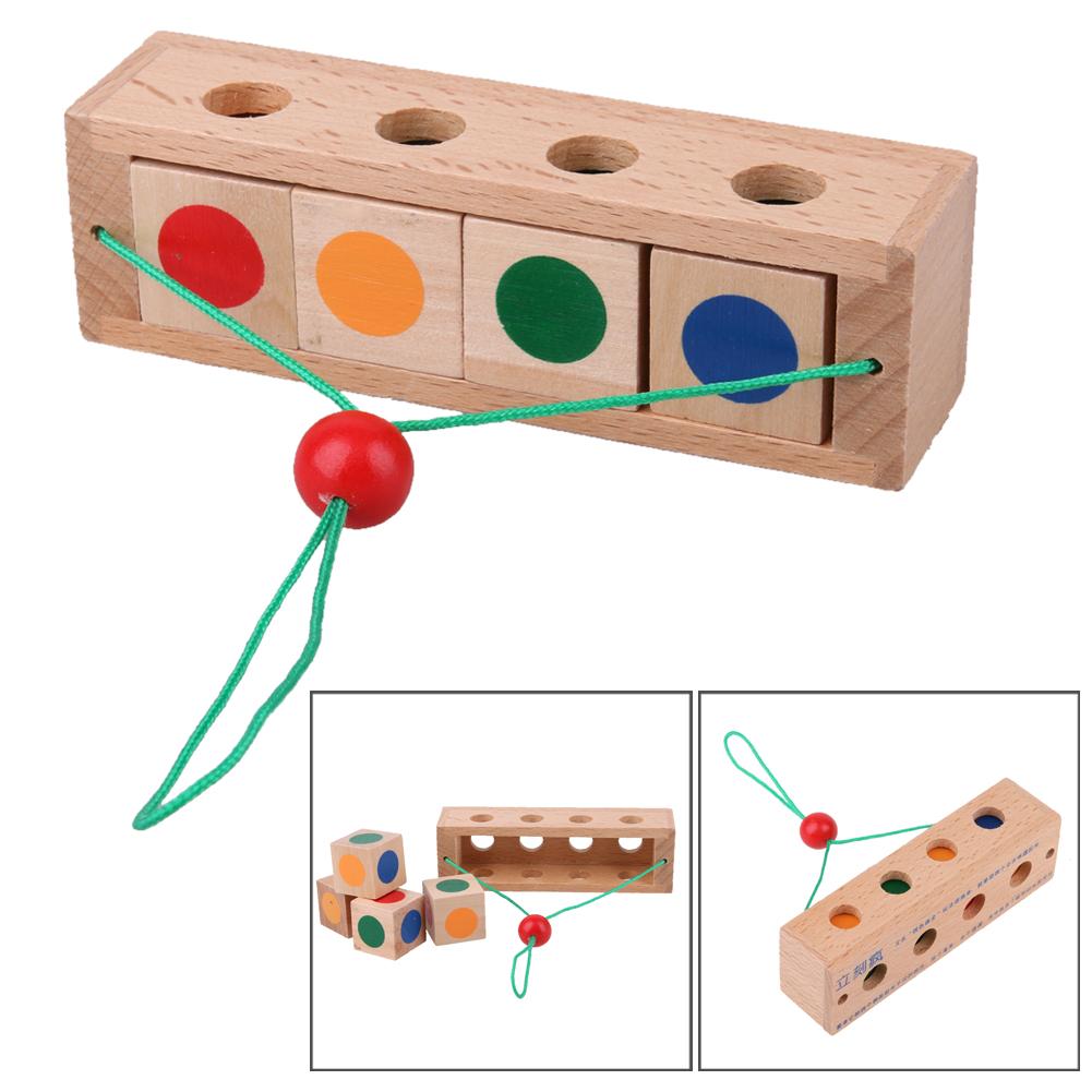 Wood Toys For Children Educational Montessori Brain Tease Toy Peak Atlas Esr 70 Incircuit Capacitor Tester Nightfall Blog Intelligent Kong Ming Luban Lock Wooden Puzzle