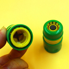 "Hose End Connector Plastic 1/2"" Snap-in Hose Quick Connector With Waterstop Function Garden Irrigation WBB528(China (Mainland))"