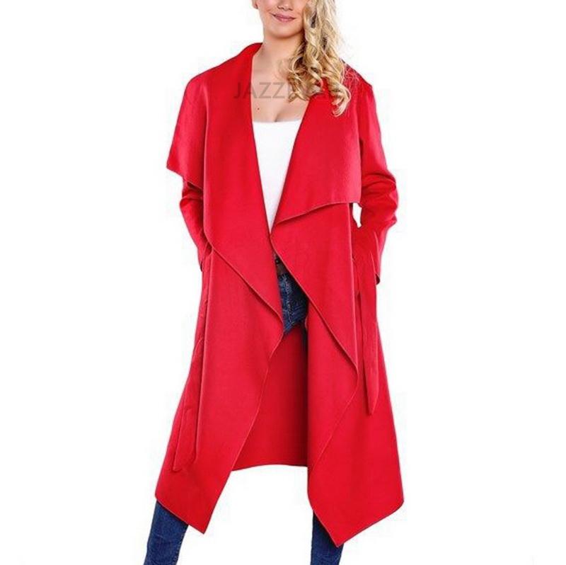 2015 new brand women winter jacket 20% wool loose plus size women trench woolen cardigan women winter long coat TB794Одежда и ак�е��уары<br><br><br>Aliexpress