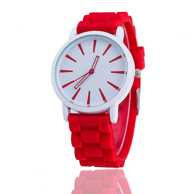 Women Watch on Silicone Band