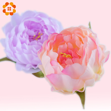 5pcs artificial decorative peony heads simulation DIY silk flower head for wedding home party decoration high quality flowers(China (Mainland))