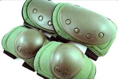 SWAT skateboard paintball knee and elbow pad DG