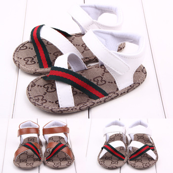Lovely 1pair Baby Sandals summer antiskid Boy First Walkers,Cheap Soft Shoes,Brand toddlers/Newborn Prewalker
