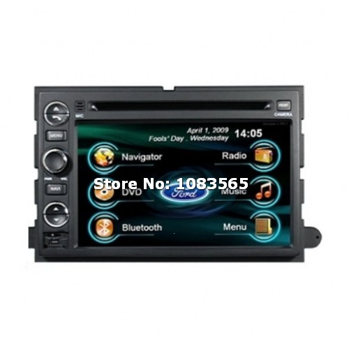 For Ford Explorer 2006 - 2010 Car Audio & Video Navigation DVD Player with Radio TV Multi Zone WINCE 6.0 System(China (Mainland))