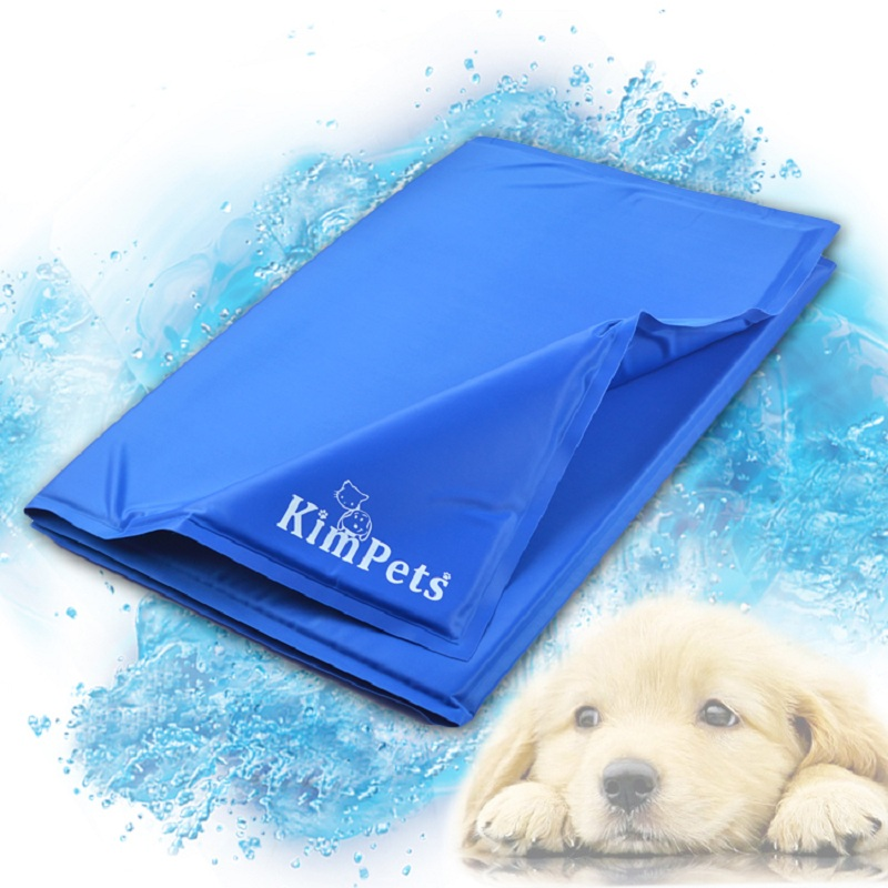 Cool!!Pet Cool Ice Pad Teddy Mattress Mat Small And Large Dogs Cat Cage Cushion Summer Keep Cool Bed Kimpets(China (Mainland))