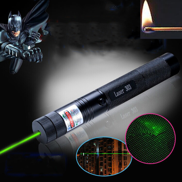 95% off SD Laser 303 Green Laser 10000mw High power Lazer burning Laser Pointer 303 presenter laserpointer + Safe Key(China (Mainland))