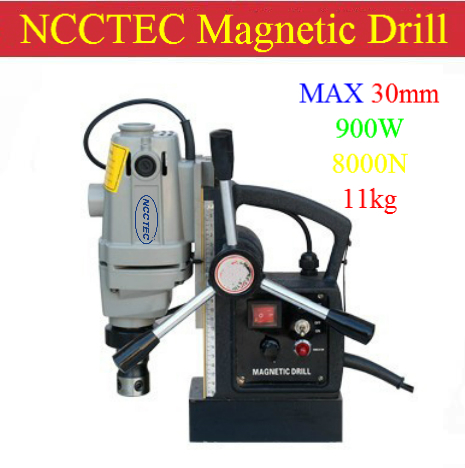 30mm core drill Magnetic base Drills NMD30C | 1.2'' MAGNETIC Drilling Machine | 900W 11KG net weight(China (Mainland))