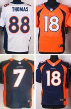 The new Hot sale Denver broncos all players free delivery women's version #18 Peyton Manning 58 Von Miller 88 Demaryius Thomas(China (Mainland))