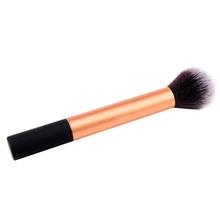 Flat Foundation Face Blush Kabuki Powder Contour Makeup Brush Cosmetic Tool Hot