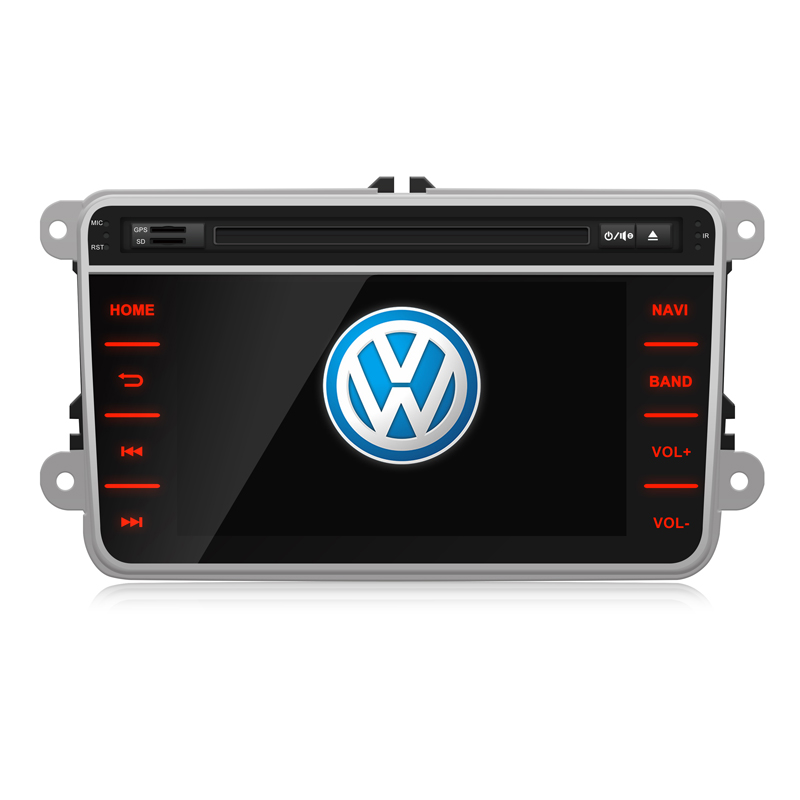 """New ! 7"""" 1080P Capacitive Screen Car DVD Player GPS For VW/Skoda/Seat Can Bus WiFi 3G USB DVR Mirror Link Bluetooth OBD2 Radio(China (Mainland))"""