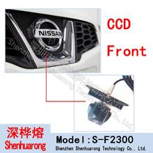 F2300 бесплатная доставка 100% IP68 водонепроницаемый 170 град. 480 ТВЛ CCD высокое разрешение цветная для Nissan логотип передняя камера