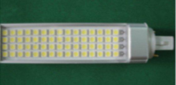 12W G24/E27 LED bulb,60pcs 5050 SMD LED,AC110V/220V input