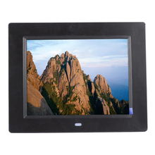 Hot Digtal Photo Frame 8 Inch HD TFT-LCD Digital Picture Frame Calendar Mode Alarm Clock Timer Switch Human with Remote Control