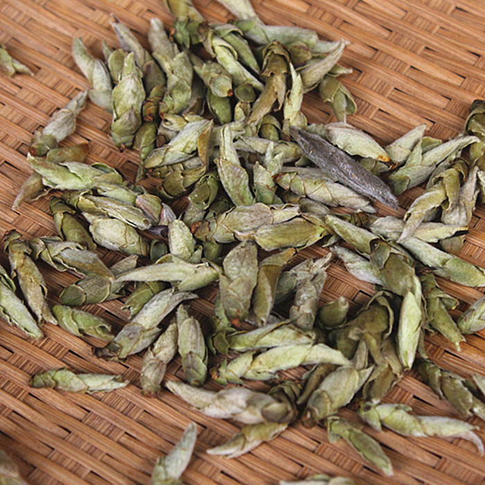 Yunnan white bud trees spring wild white bird Buxus Bacillus Pu er tea raw mouth Free