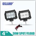 Oslamp 30W 4inch 5D CREE chips Flood Spot LED Work Light 12V 24V 6000K Led Auto