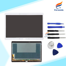 1 Piece 100% tested Free shipping for Samsung Galaxy Tab S 10.5 T800 t805 LCD Display tablet touch screen digitizer assembly New(China (Mainland))