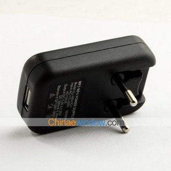 MP3 / MP4 LED USB EU Plug Power Supply