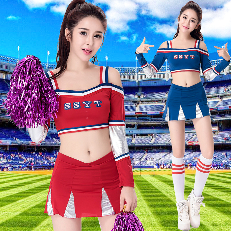 2016 Woman's 2 Piece Sports Suits For Girl French European Cup Football Baby Clothes Lara Cheerleading S-XXL(China (Mainland))