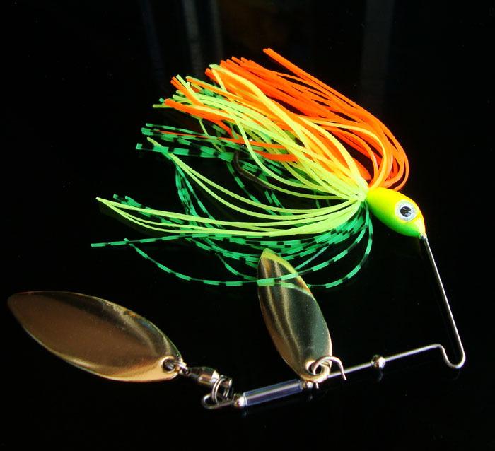 5pcs 12g 1/2oz Spinner Bait Fly Fishing Metal Lure Spoon Fresh Water Bass Minnow Spinner Carp Fishing Hard Bait Lures Hook(China (Mainland))