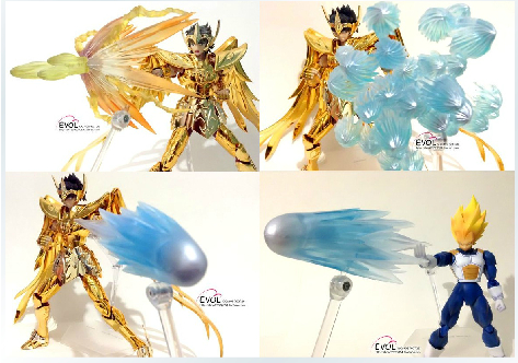 Saint Seiya Cloth Myth Model ex special effects accessories for Sagittarius Aiolos / Pegasus(China (Mainland))