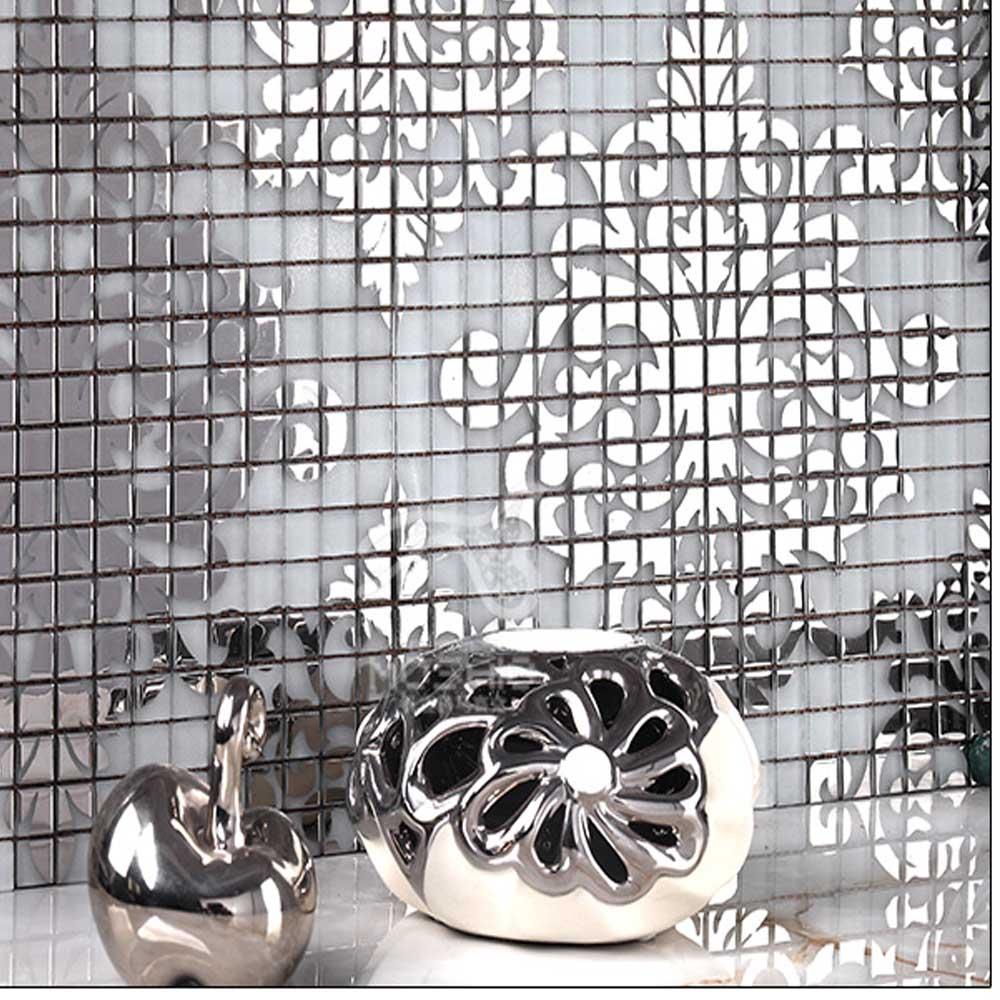 Achetez en gros sol en mosa que art en ligne des - Mosaique miroir autocollante ...