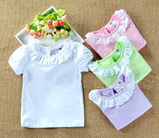 candy color short sleeve
