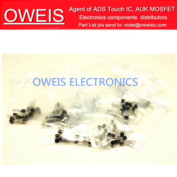 ! 16kinds commonly used TO-92 transistor triodes 16X10=16sample bags S9012 S9013 S8050 S8550 2N3906 2N3904 - Oweis Electronics (HK store)