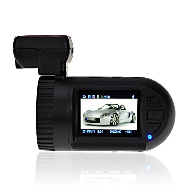 Mini 0805 HD 1296P 3M 1.5 inch Car DVR Black Box Video Recorder Ambarella A7 Chip G-sensor GPS(China (Mainland))