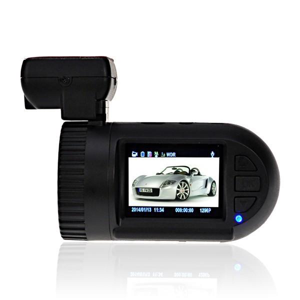 Mini 0805 HD 1296P 3M 1.5 inch Car DVR Black Box Video Recorder Ambarella A7 Chip G-sensor GPS(China (Mainland))