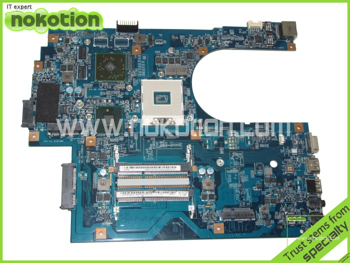 MB.PT401.001 For Acer aspire 7741 motherboard Intel hm55 ddr3 With ati graphics Onboard MBPT401001 48.4HN01.01M