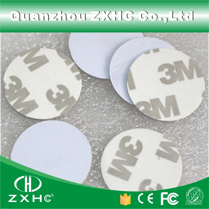 (100pcs) 25mm 125Khz RFID Cards ID 3M Sticker Coin Cards TK4100 Chip Compatible EM4100 For Access Control(China (Mainland))