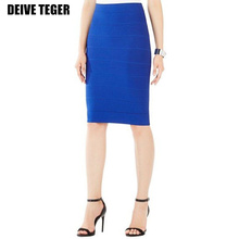 DEIVE TEGER 65cm Length Wholesale Free Shipping 2015 New Bandage Bodycon Sexy Fashion Skirt Women Mid-Calf Skirts HL1497(China (Mainland))