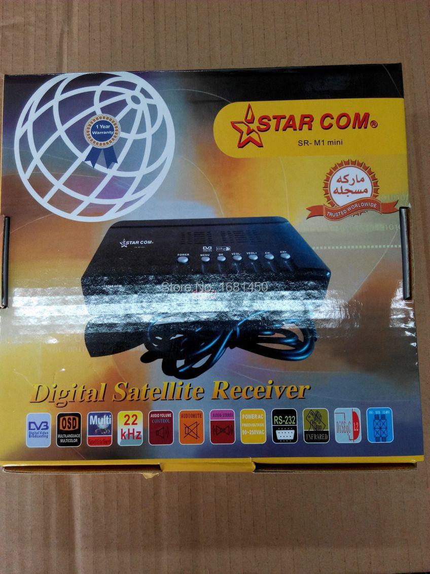 DVB FTA digital satellite receiver STAR.COM M1 MINI DIGITAL RECEIVER DVB-S(China (Mainland))