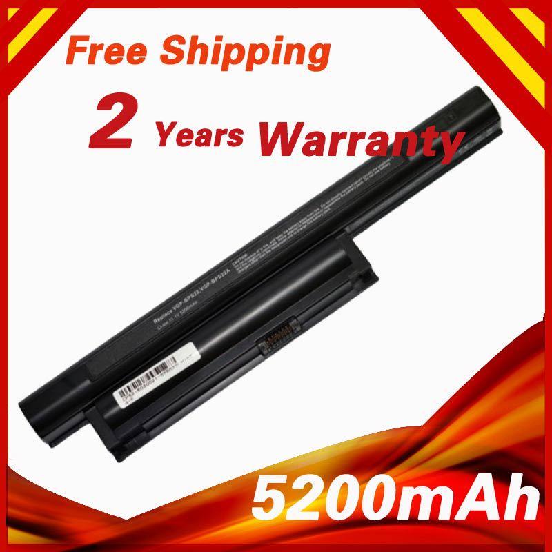 6 cells Laptop Battery BPS22 VGP-BPS22 VGP-BPS22A For SONY VAIO VPC-E1Z1E VPC-EA1 VPC-EA16E VPC-EA12EA/BI VPC-EA12EG/WI VPC-EB1S(China (Mainland))