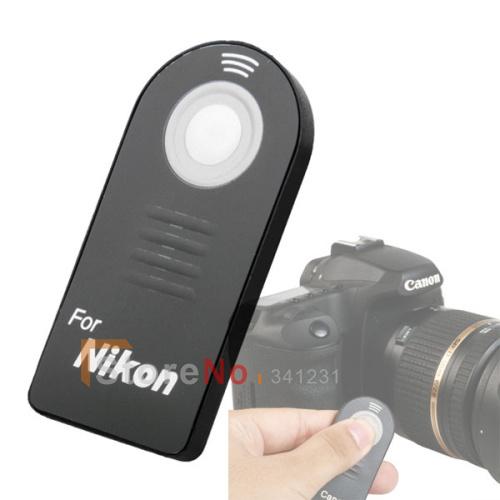 ML-L3 Remote Control For Nikon D7000 D5100 D5000 D3000 D90 D70 D60 D40 D40X F75 F65 Free Shipping + tracking code + Wholesale(China (Mainland))