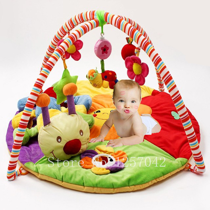 Colourful Baby Playmat Musical Play Mats With Toys Kids