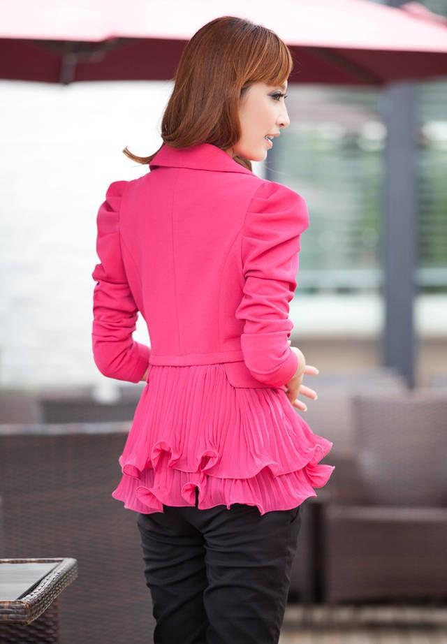 Женская куртка 2015 flouncing,