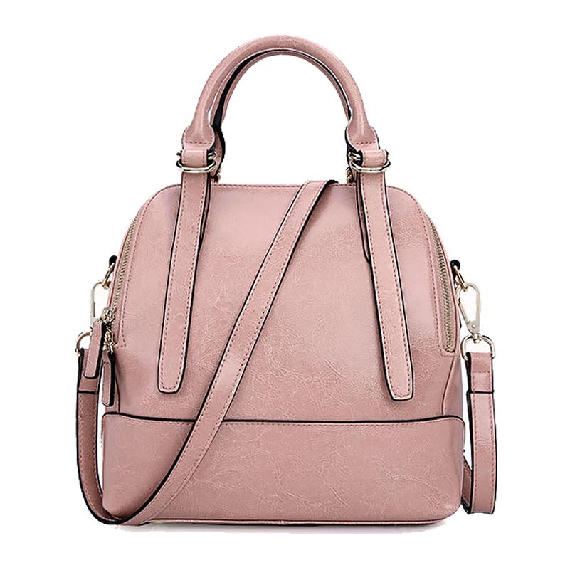 Фотография Famous Brand Fashion Women Bag 2015 Wiliamganu High Quality Genuine Leather Women Shell Tote Handbags Women Solid Messenger Bags