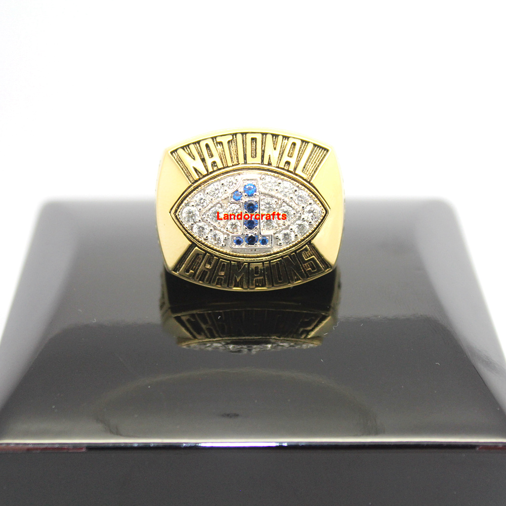 1986 Penn State Nittany Lions ncaa college football National Championship Rings(China (Mainland))