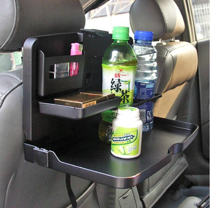Car Dining Table Travel Food Holder And Tray Rear Seat