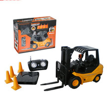 Kingtoy Mini Remote Control  RC Electric Forklift Truck with lights and Sound Car(China (Mainland))
