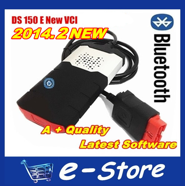 2015 Best Quality DS150E Bluetooth New VCI 2014.R2 With Keygen TCS CDP PRO PLUS DS150 Auto Diagnostic Scan Tool(China (Mainland))