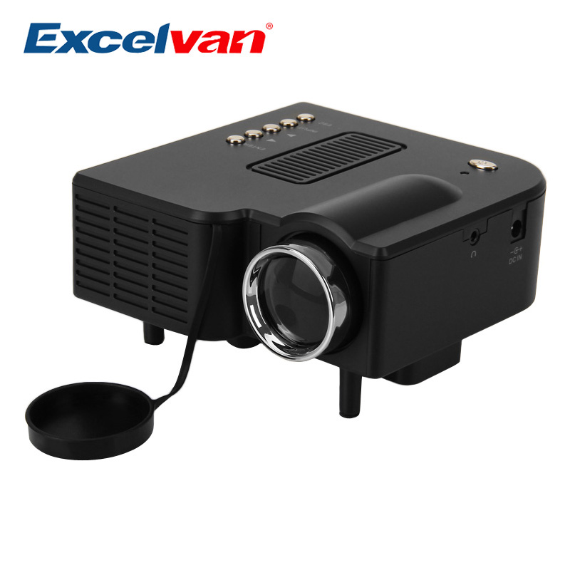 Led Lcd Projector X7 Home Cinema Theater Multimedia Led: Aliexpress.com : Buy Excelvan UC28 Portable Mini Projector