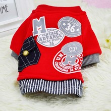 Buy Cotton Dog Coat Sweater Cat Pet Clothes Fashion Baseball Costume Sweatshirt Uniform Clothing Puppy Dogs Apparel AA for $2.94 in AliExpress store