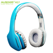 AUSDOM M07 Original Popular Wireless Bluetooth Stereo Headphone Headset Earphone 10Hrs Talk Time for IOS Phone Pad Samsung(China (Mainland))